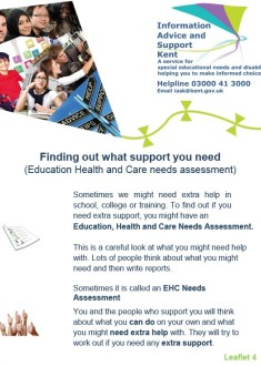 4 Finding out what support you need EHC Assessment 1