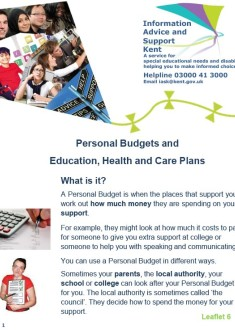 6 Personal budgets 1